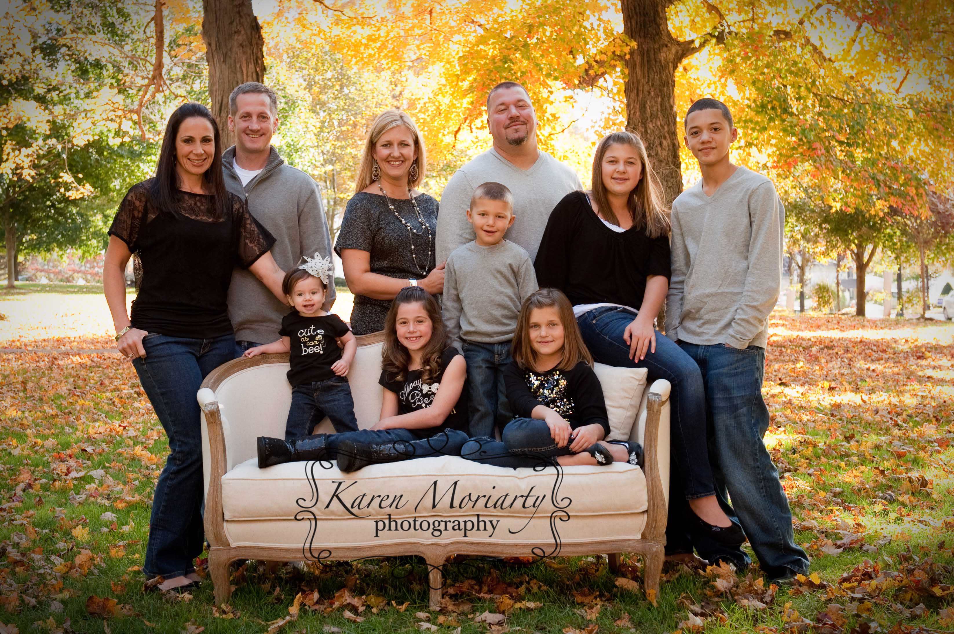 Fabulous Fall Family Reunion Portrait 187 Kemphoto Com Blog